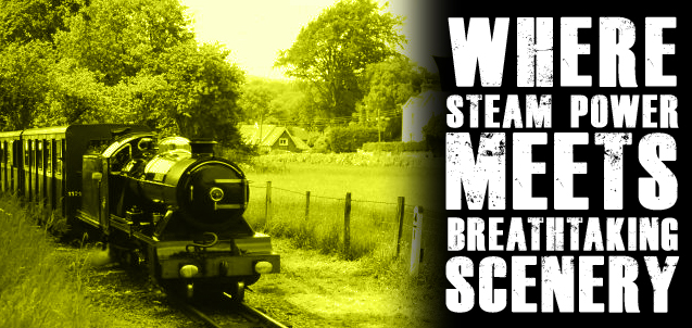 Where steam power meets breathtaking scenery